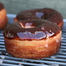Yeasted Potato Doughnut with Chocolate Glaze