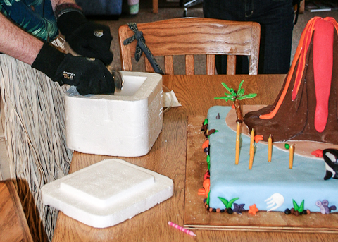How Can I Make A Volcano Cake Erupt