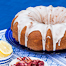Lemon-Rhubarb Bundt Cake