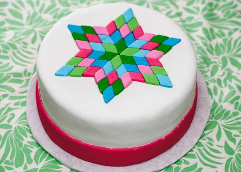 Lone Star Quilt Cake Flour Arrangements