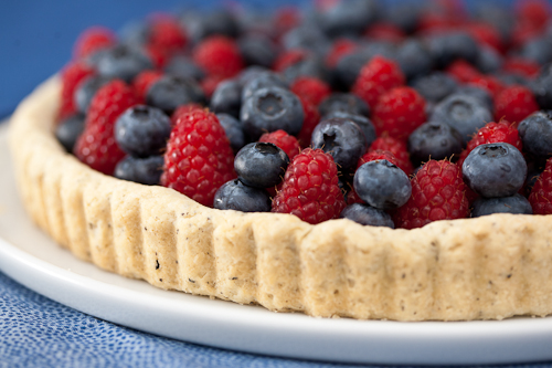 Earl Grey Tart with Berries