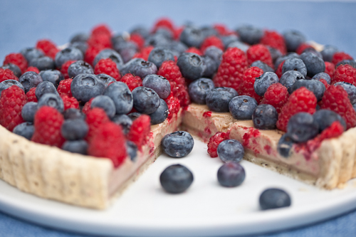 Earl Grey Tart with Berries 2