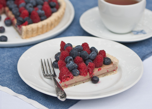 Earl Grey Tart with Berries 4
