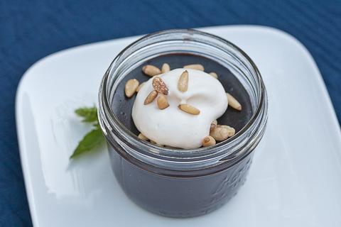 Bittersweet Chocolate Pudding   flourarrangements.org