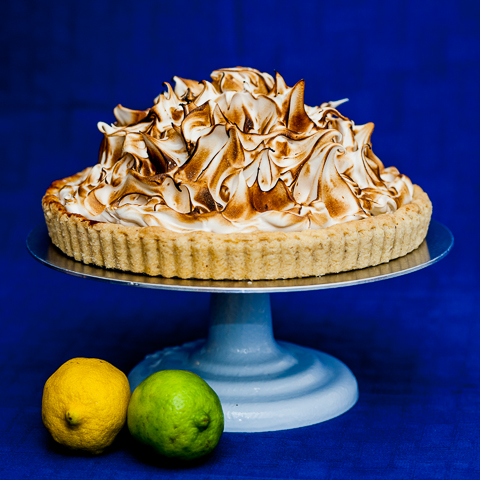 This Lemon-Lime Meringue Pie's tart lemon-lime filling could really ...