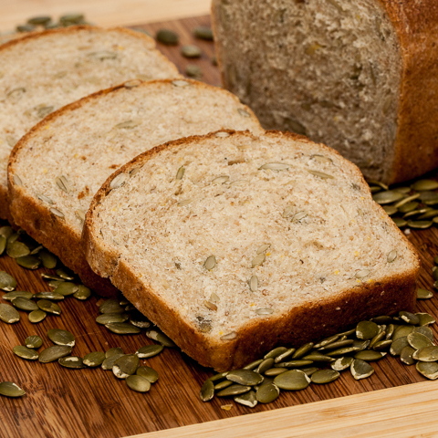 multigran pumpkin seed bread
