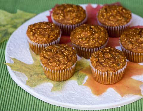 Pumpkin Millet Muffins