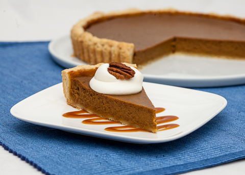 Pumpkin Pie  | flourarrangements.org