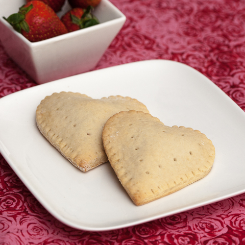 Heart Shaped Toaster Pastries