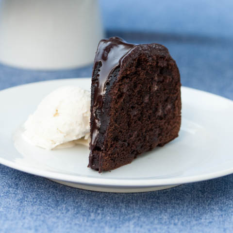 Kahlua Chocolate Bundt Cake