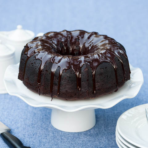 Kahlua Chocolate Bundt Cake