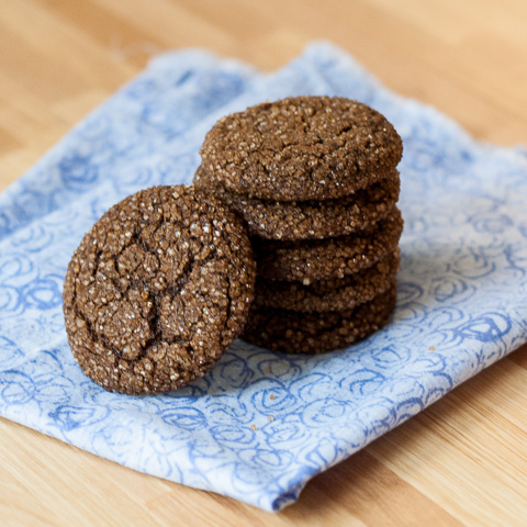 Ginger Spice Cookies | Flour Arrangements