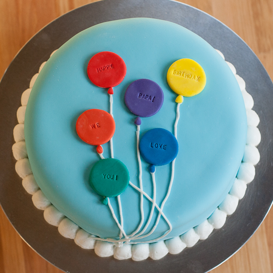 Balloon Cake | Flour Arrangments