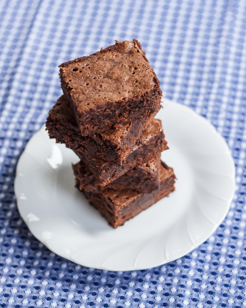 Cinnamon-Chocolate Brownies | Flour Arrangments