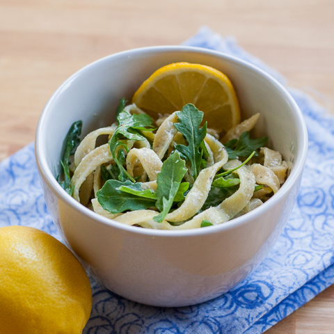 Lemon-Arugula Pasta | Flour Arrangements
