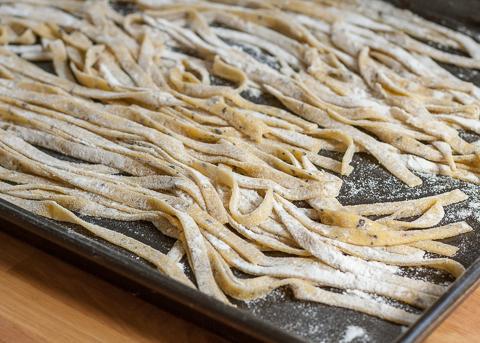 Lemon-Pepper Pasta | Flour Arrangements