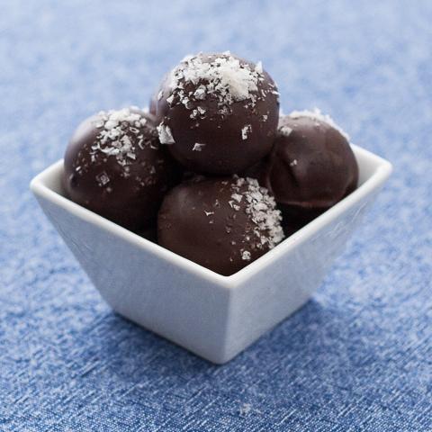 Cookie Dough-Brownie Bonbons | Flour Arrangements