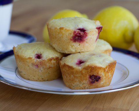 Lemon-Raspberry Muffins | Flour Arrangements