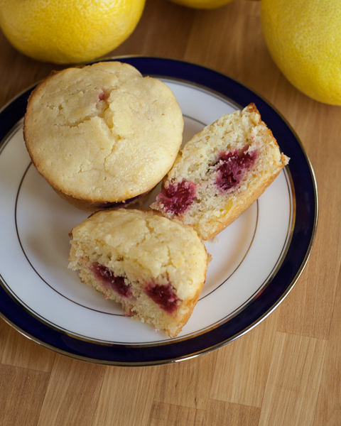 Lemon-Raspberry Muffins | Flour Arrangements