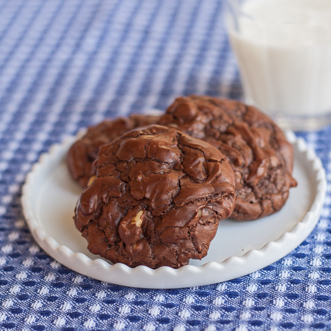 Double Chocolate Cookies | Flour Arrangements