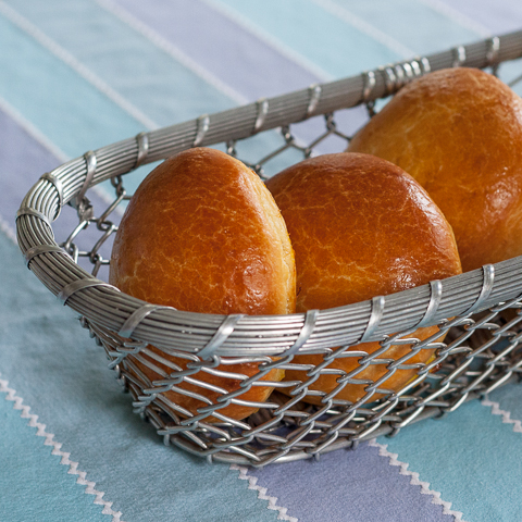 Brioche Hamburger Buns | Flour Arrangements