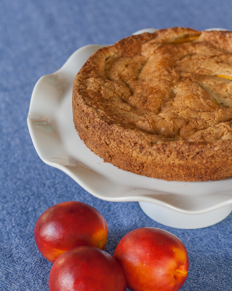 Nectarine Cake | Flour Arrangements