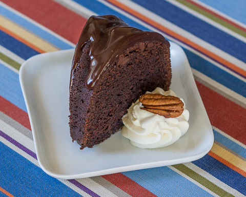 Chocolate Whiskey Cake | Flour Arrangements