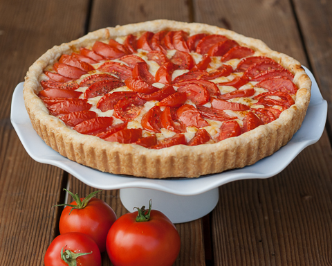 Tomato & Onion Tart | Flour Arrangements