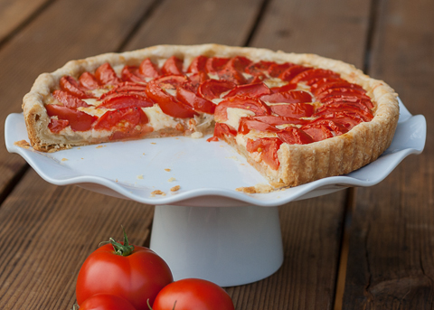 Tomato & Onion Tart | Flour Arrangements