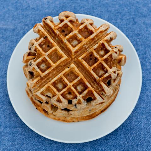 Nibby Super Cinnamon Waffles | Flour Arrangements