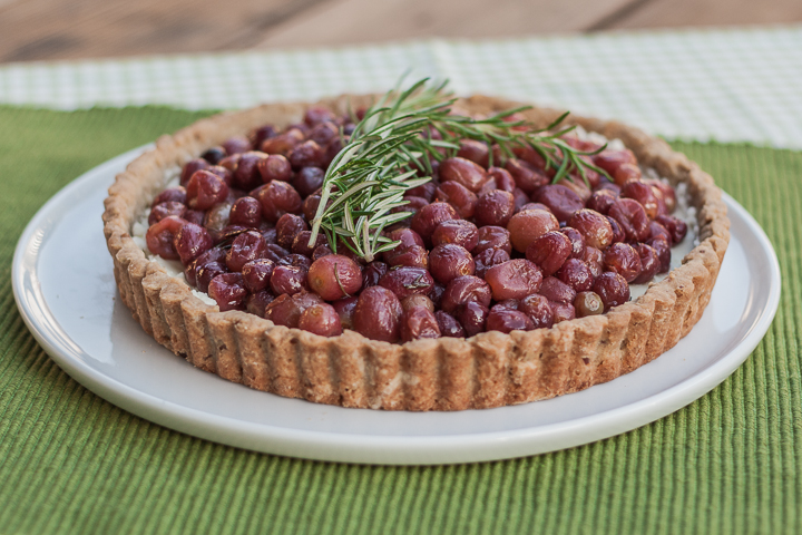 Roasted Grape Tart | Flour Arrangements